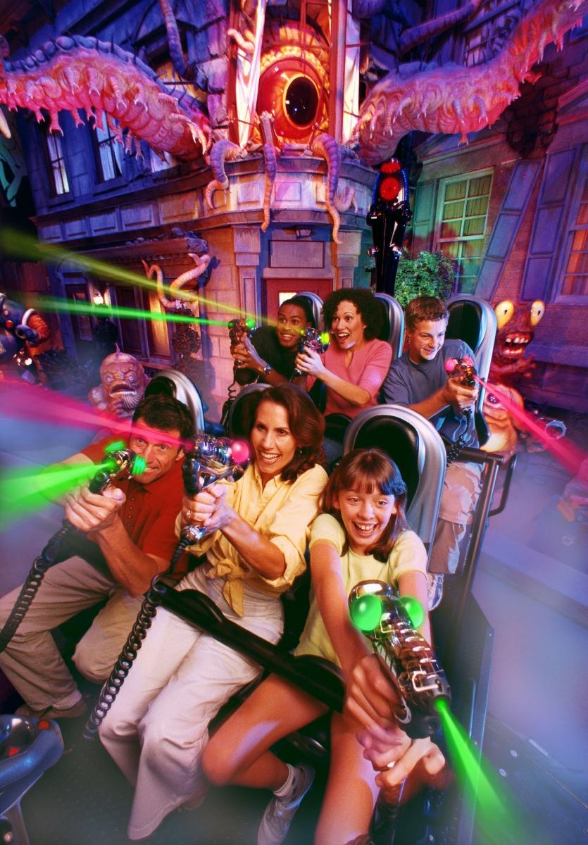 Universal roller coaster