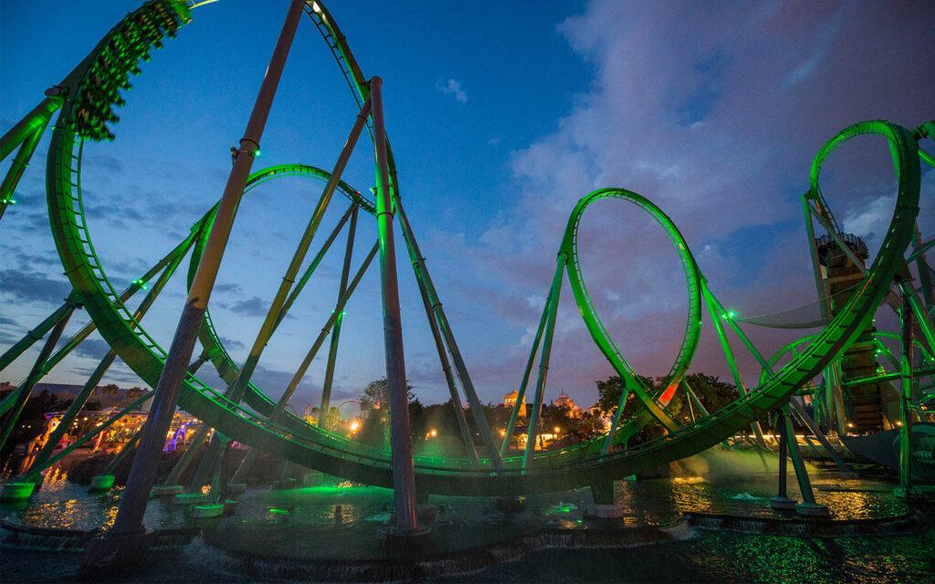 Hulk Roller Coaster