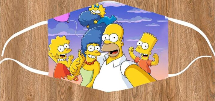 Simpsons family mask