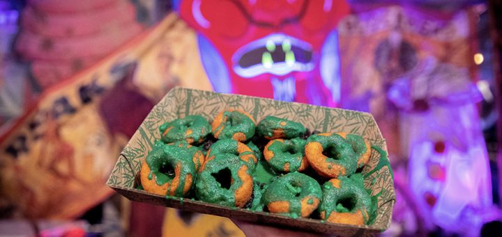 Halloween Pumpkin Donuts Recipe
