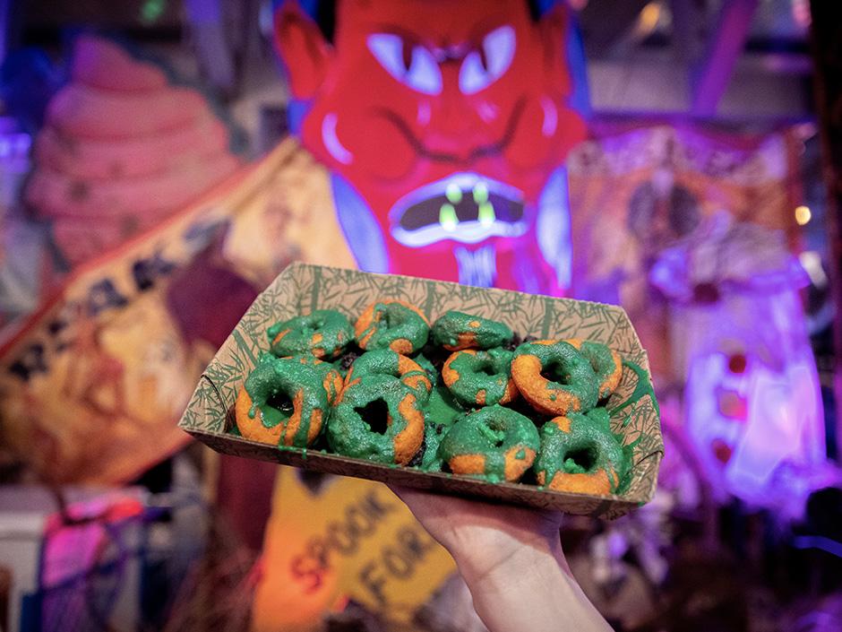 Halloween Pumpkin Donuts Recipe