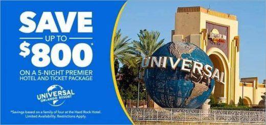 Universal Ultimate Savings Package