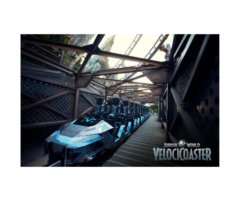 VelociCoaster Ride Vehicle Backgrounds
