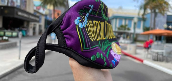 New Mardi Gras Face Mask