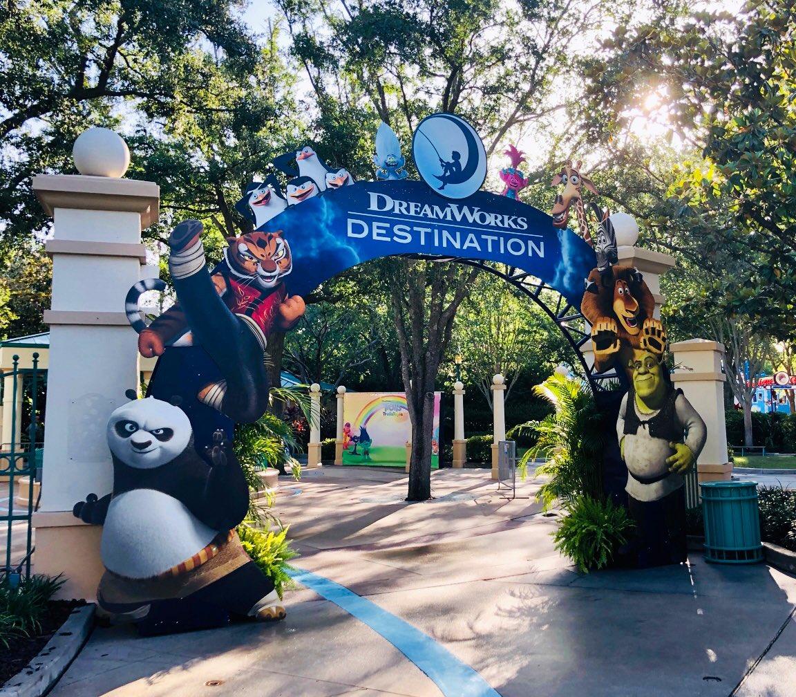DreamWorks Destination Entrance